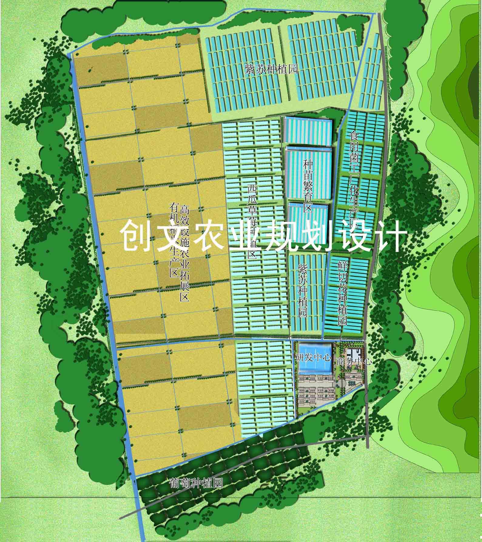 灌云 省级 现代农业产业园区 总体规划 经典案例